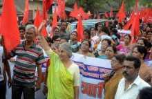 Com. Subhashini Ali's campaign in Barrackpur constituency